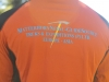 PEMBA Long Sleeve Zip-Neck Back Burnt Orange