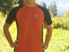 MINGMA Short Sleeve Front Burnt Orange