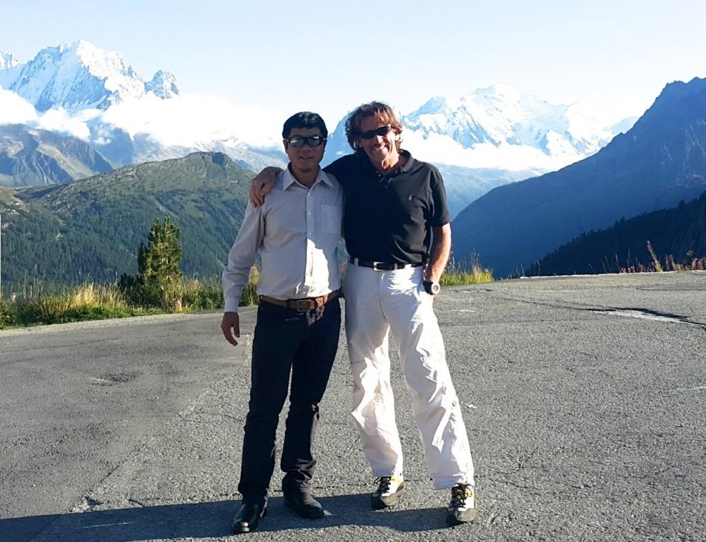 MNGS Directors Ang Kami Sherpa & Roger J Fleming