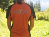 MINGMA Short Sleeve Back Burnt Orange